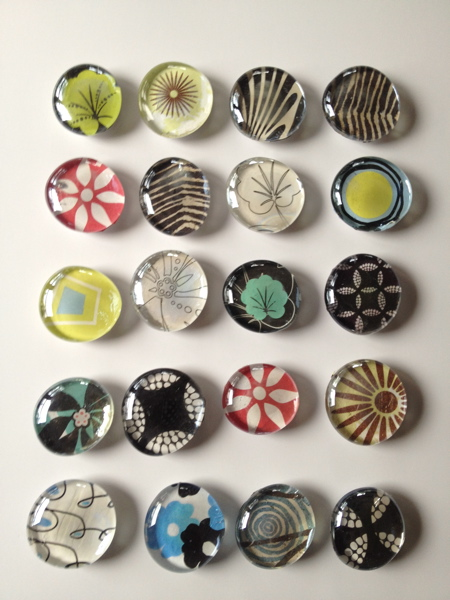Deborah vel squez feeling crafty with glass magnets for Small magnets for crafts