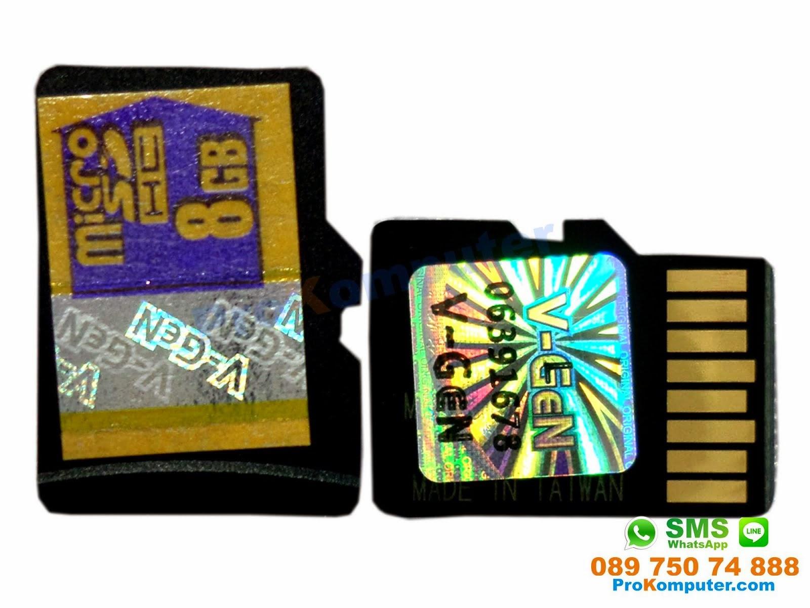Prokomputer Micro Sd 8gb Vgen