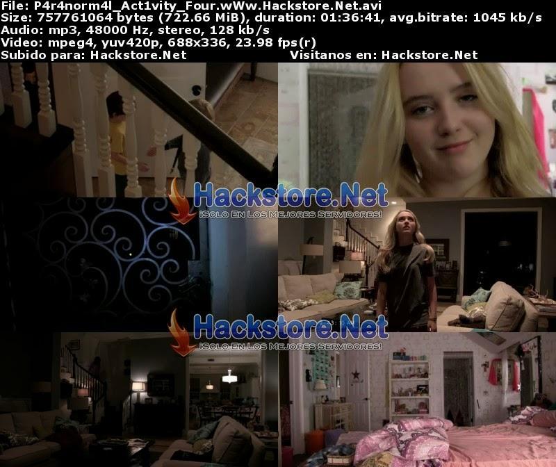 Captura Actividad Paranormal 4 (2012) Dvdrip Latino
