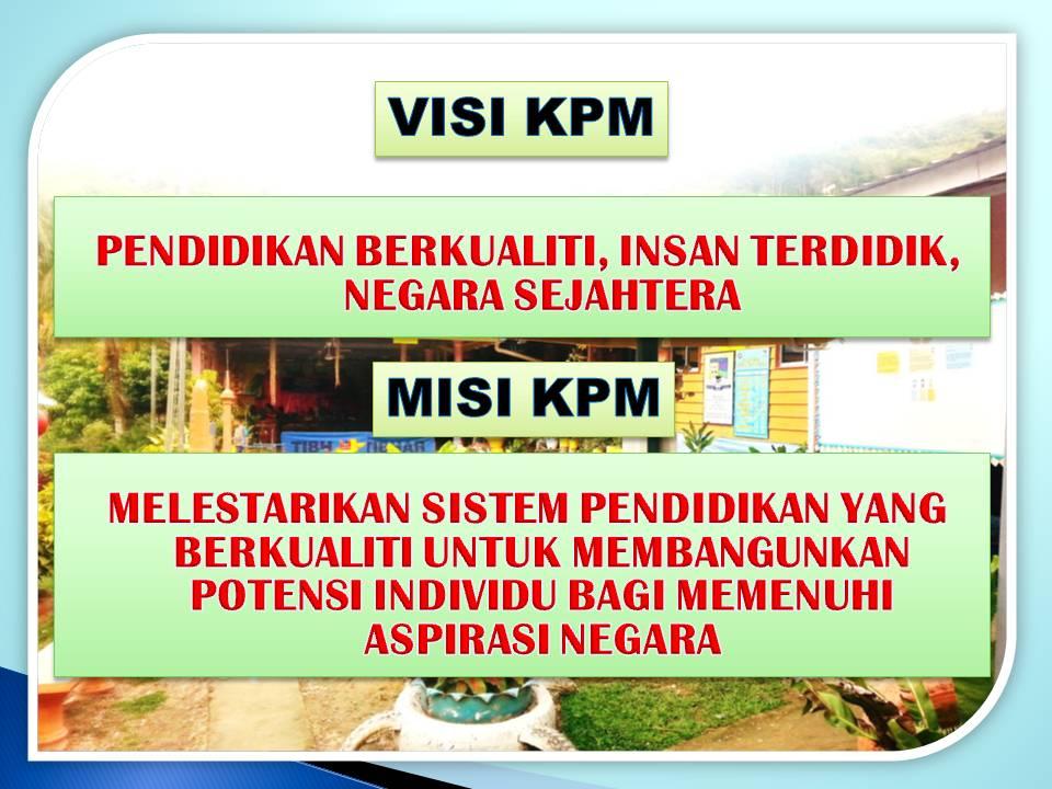 Visi dan Misi KPM