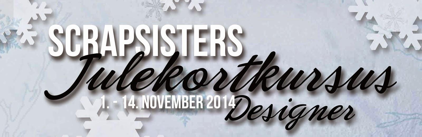 Jeg er designer på SS's julekortkursus