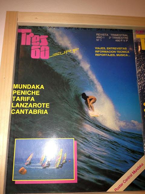Presentación en el museo marítimo de Bilbao de la exposición Unsiglo de surf