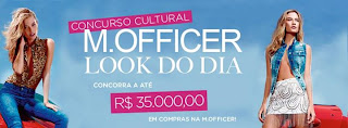 Concurso Cultural Mr Officer - Look do Dia!