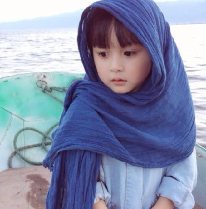 Foto gambar Liu Chu Tian balita tercantik di dunia gratis