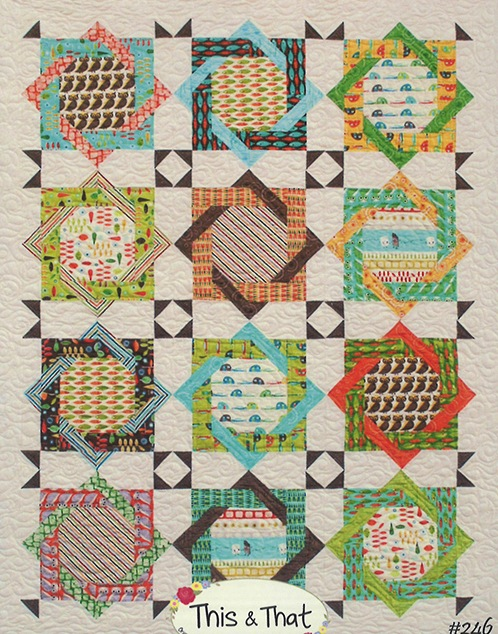 Camping in Style quilt pattern by This and That Designs