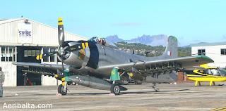 Douglas A-1H Skyraider F-AZHK