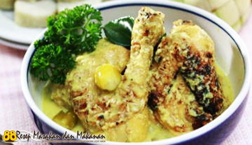 Opor Ayam Panggang Betawi