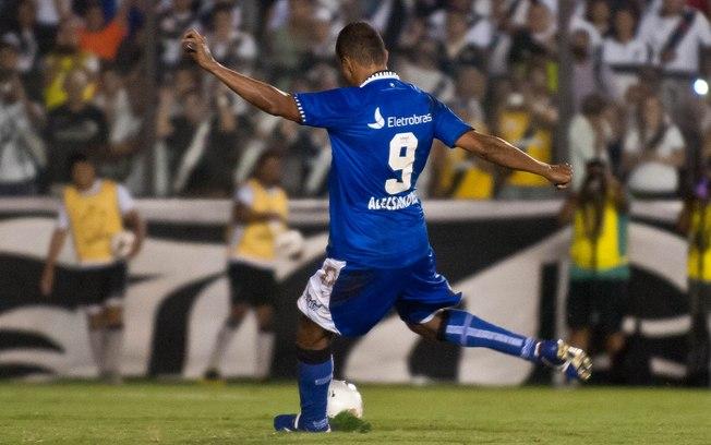 Vasco 3 x 2 Alianza Lima pela Libertadores, Alecsandro erra dois pênaltis