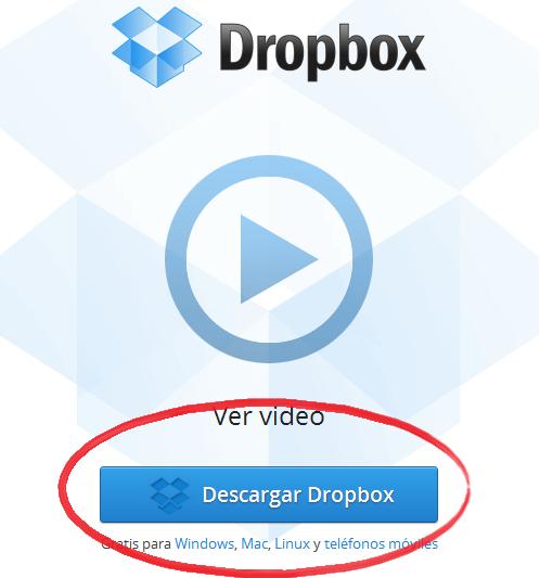 descargar dropbox mac