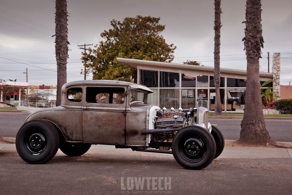 LOWTECH | traditional hot rods and customs : oceanside coupe