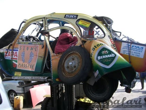 Mangled Madness Rally Car - Art Car Central