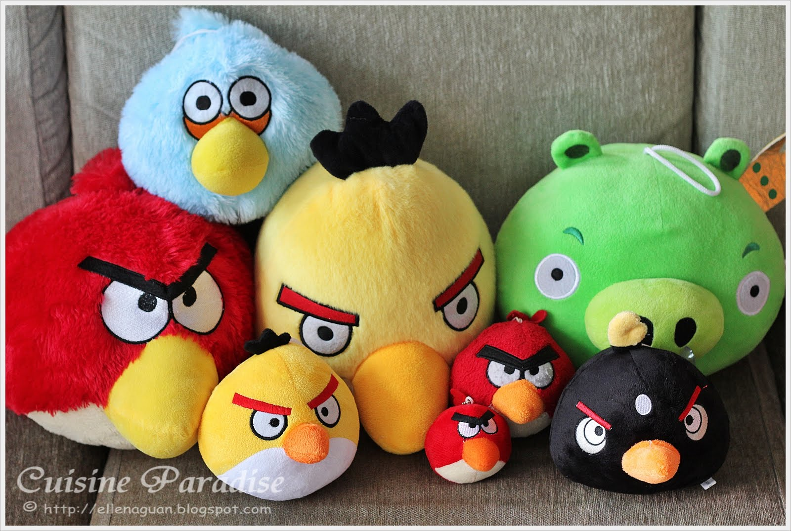 Angry Birds Item Giveaway] Angry Birds Bento - 愤怒鸟便当