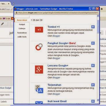 cara membuat dan menambahkan gadget popuplar post di blog (bogger)