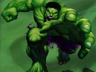 Hulk, um dos super-heróis mais fortes