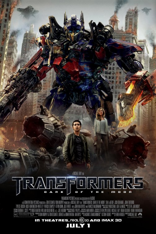 Transformers Dark of the Moon poster