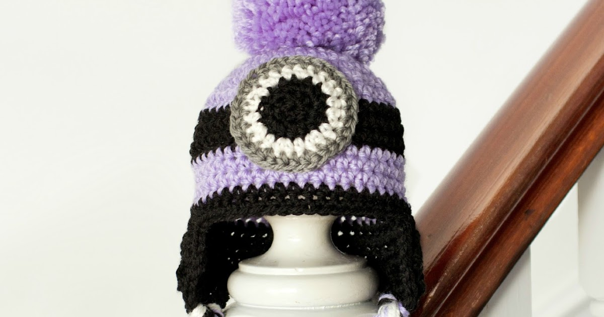 Crochet Baby Minion Hat Pattern : Hopeful Honey Craft, Crochet, Create: Evil Minion ...