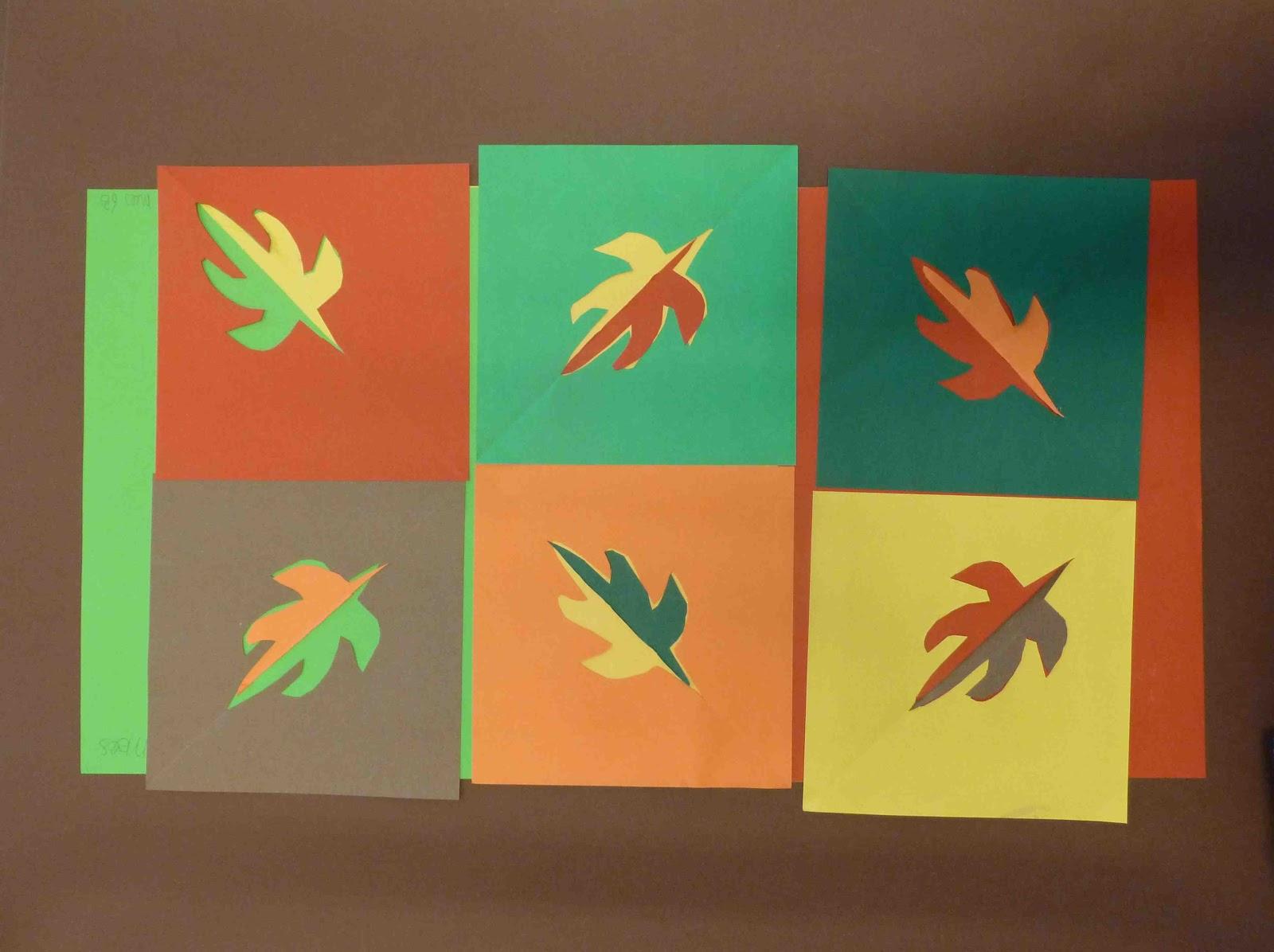 mijn ogen zien en mijn handen maken: Herst als Matisse
