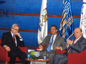 Diálogo entre presidentes deriva en discusión sobre el 4%