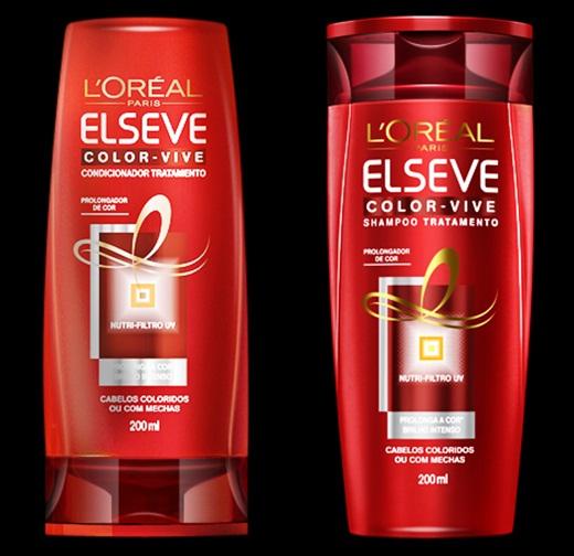 shampoo da vez elseve color vive - Elseve Color Vive