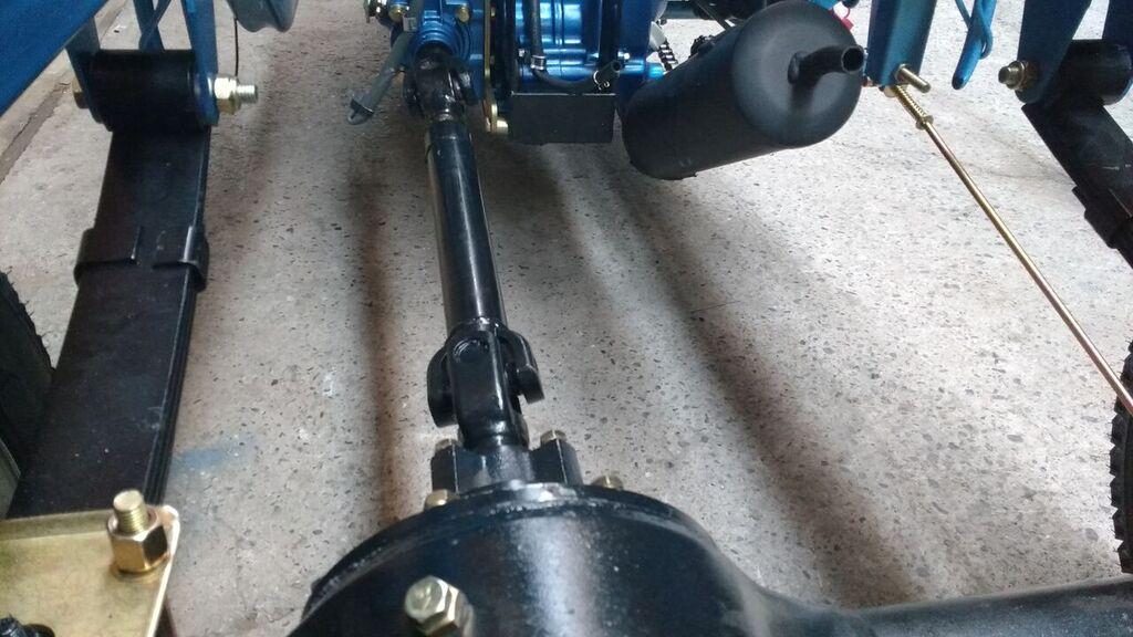 Cardan/diferencial triciclo de crga