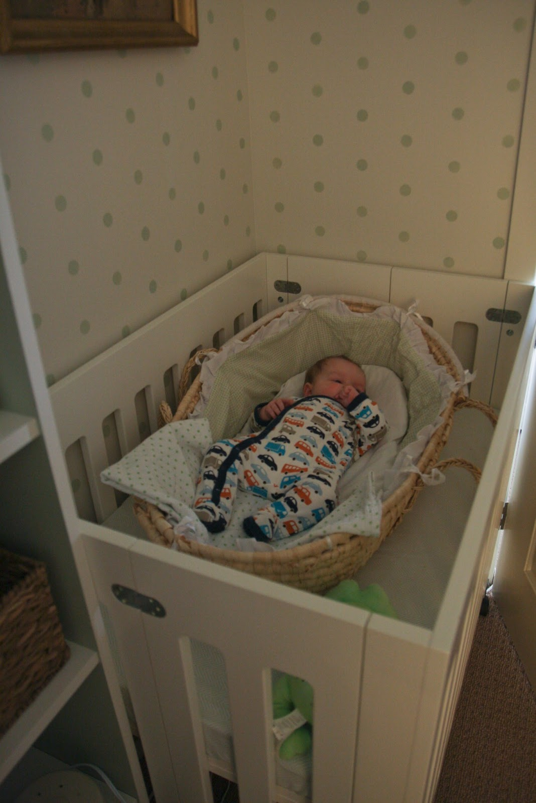 Sabbe interior design the blog the closet nursery Master bedroom with a crib