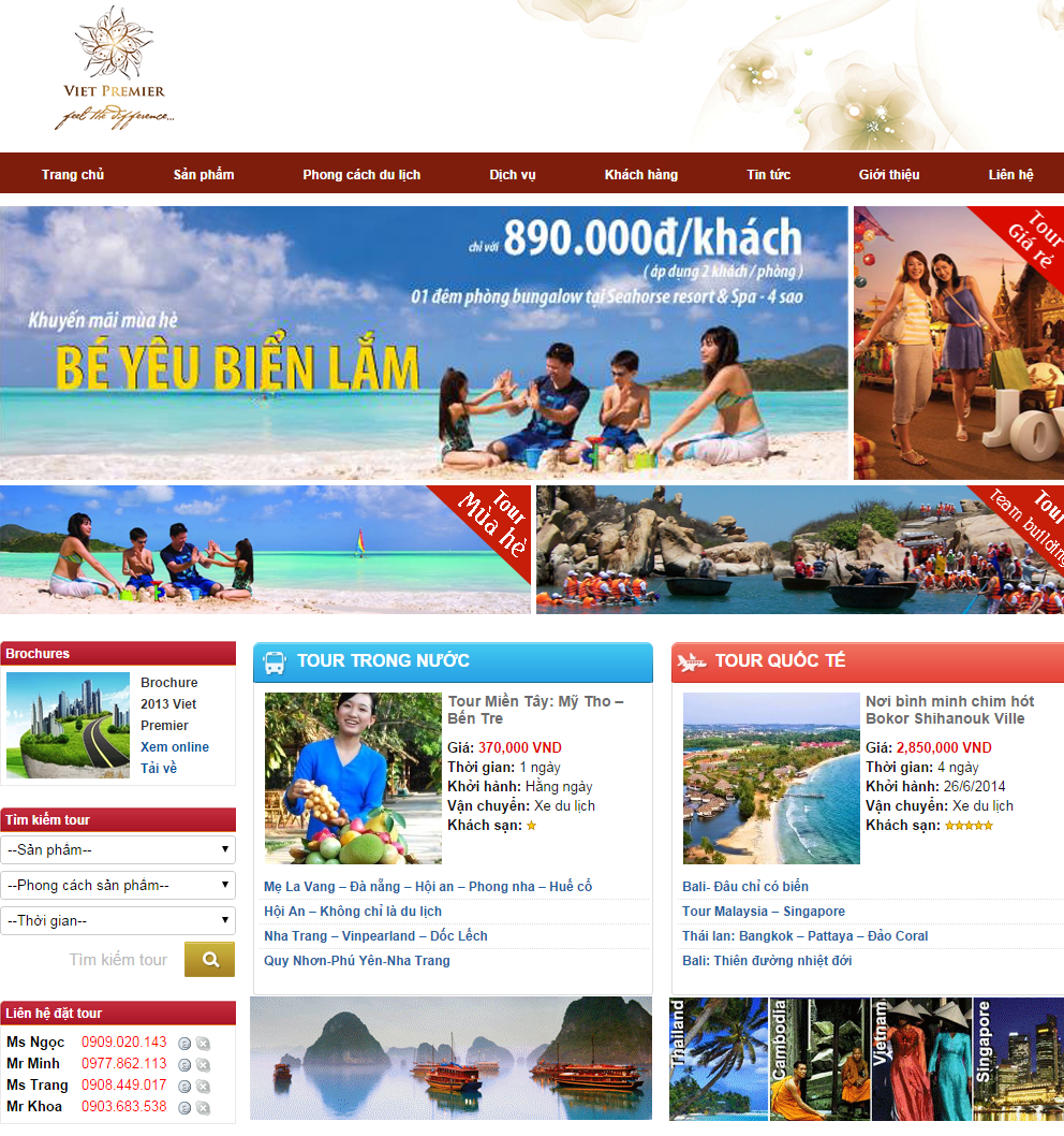 Thiết kế website bằng wordpress | thiet ke website du lich bang wordpress