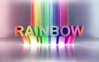 Colorful rainbow wallpaper
