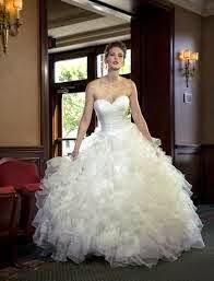 Vestidos de novias tipo princesa | Romanticismos en la boda