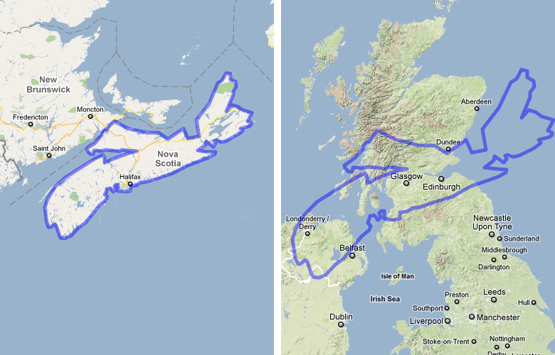 Japan Compared To Vancouver Island