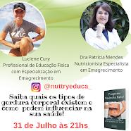 Live , dia 31/07/20, às 21:00, no Instagram:@nuttryeduca_