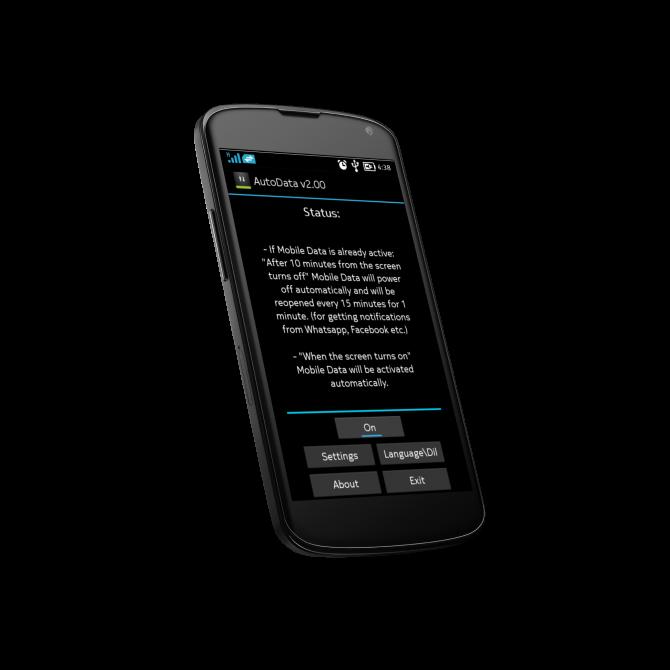 AutoData 2.00 APK Ahorra Datos y Automatiza Su Uso En Tu Android MEGA