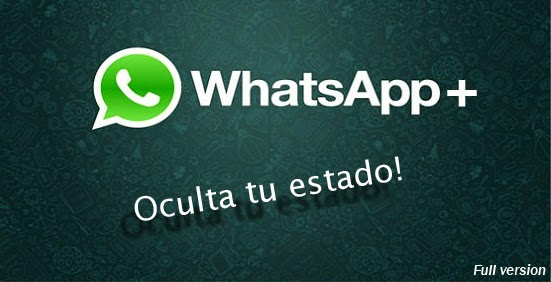 Whatsapp+ v6.26D Full Cracked APK - Oculta tu estado