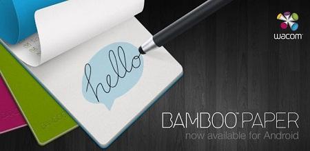 WACOM BAMBOO PAPER