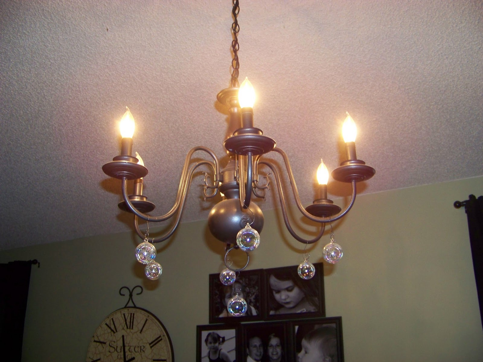 Pottery barn celeste chandelier - The Sunset Lane Diy Pottery Barn Bellora Chandelier Knock Off