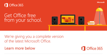 FREE MS Office 365 for Students