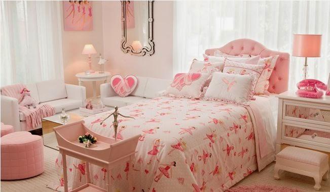 Casa de ideias e decoração Quarto de Adolescente ~ Quarto Rosa E Azul Tiffany