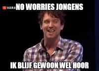 Meme van Van der Laan en Woe