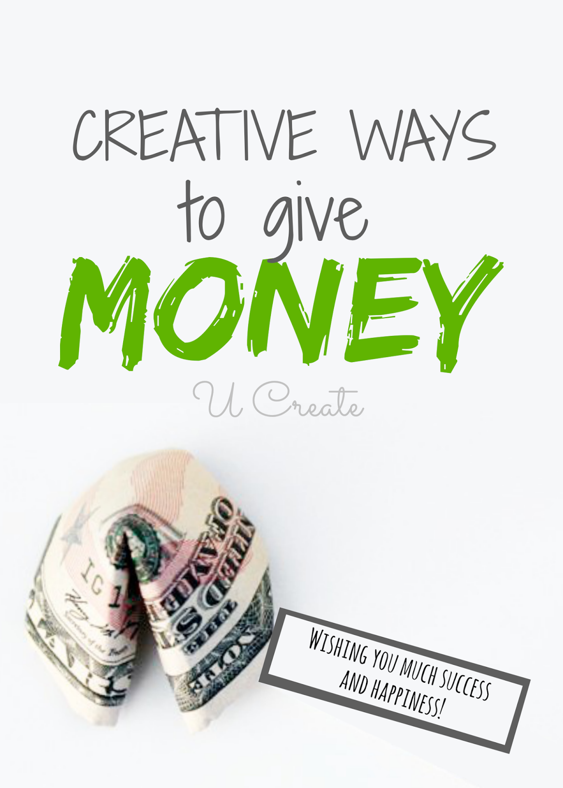 Wedding Gift Giving Money : ... Ways to Give Money (perfect for the grad, weddings, birthdays
