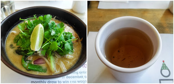 Wagamama Chicken Itame and Green Tea