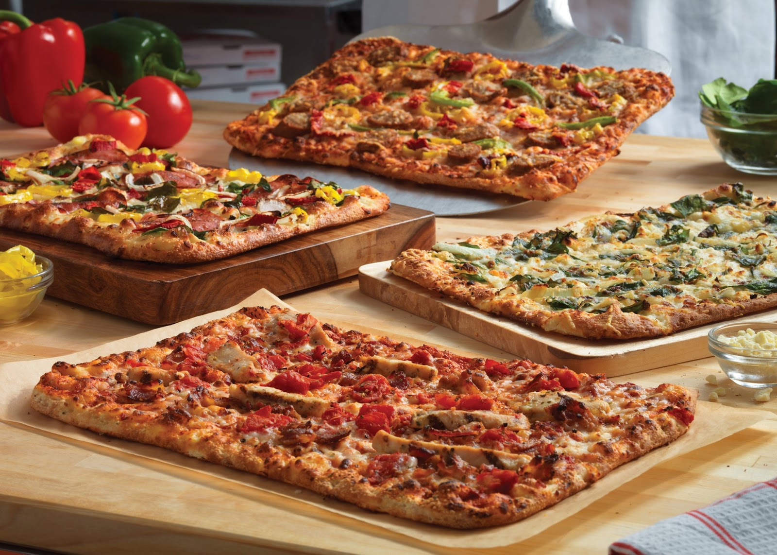 Gone free artisan pizzas from domino s for Domino pizza