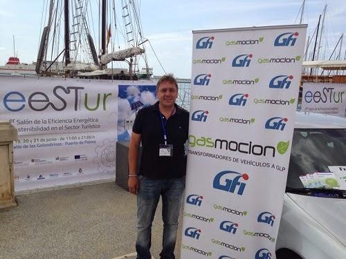 Gasmocion presete en el I Salón de la Eficiencia Energética y sostenibillidad del sector turísticos EESTUR.