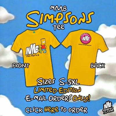 Simpsons Tee