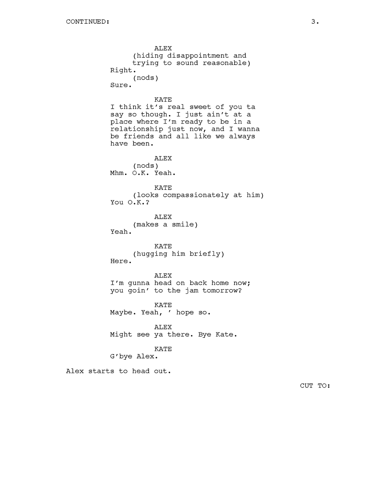 Tv Show Script Example Pictures To Pin On Pinterest Movie Script
