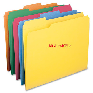.ldf and .mdf files