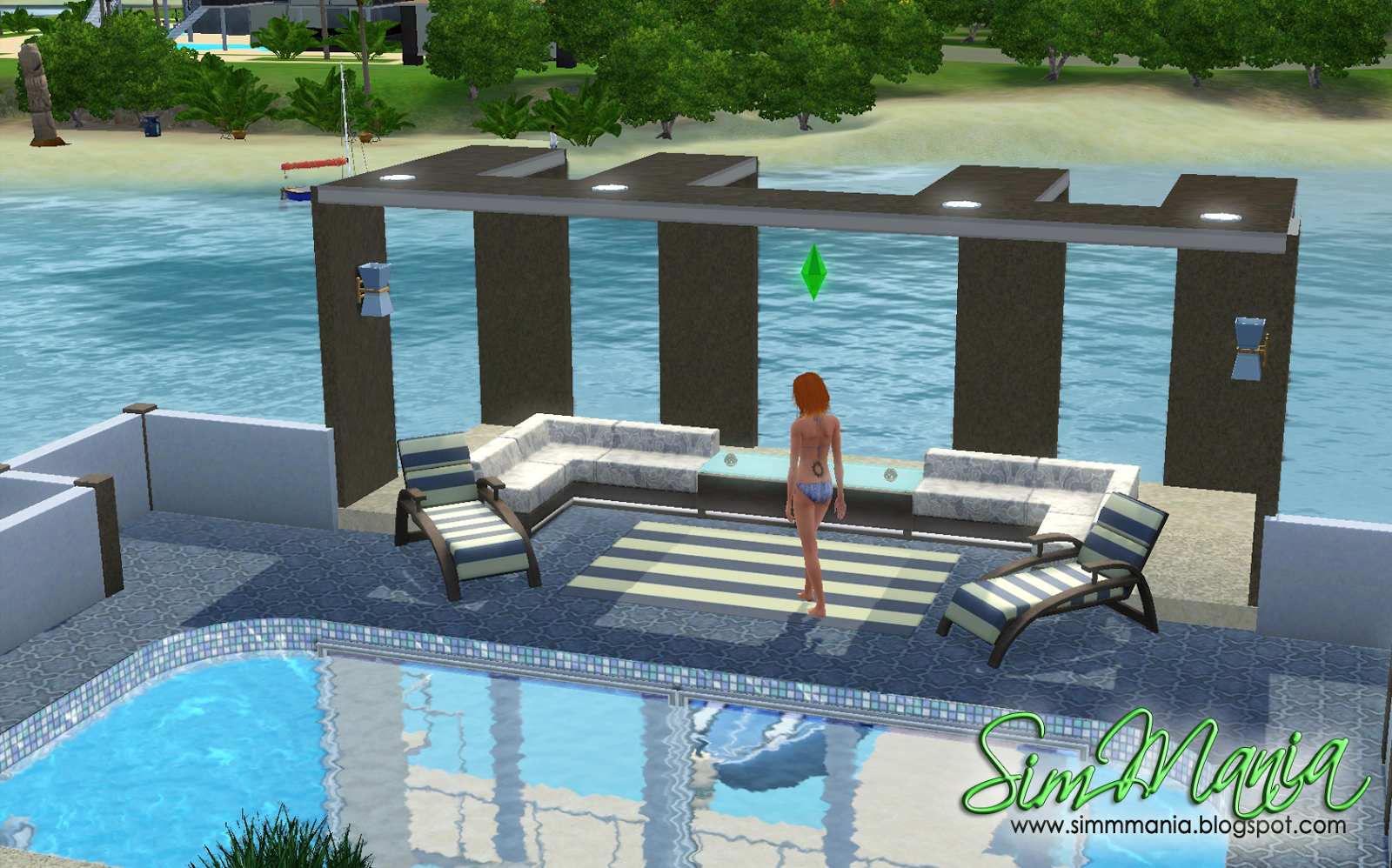 the sims 3 how to put foundation anywhere