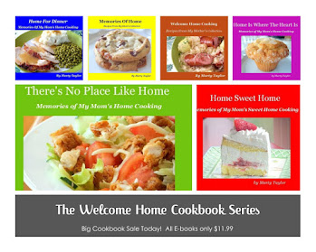 See my 8 Published Cookbooks