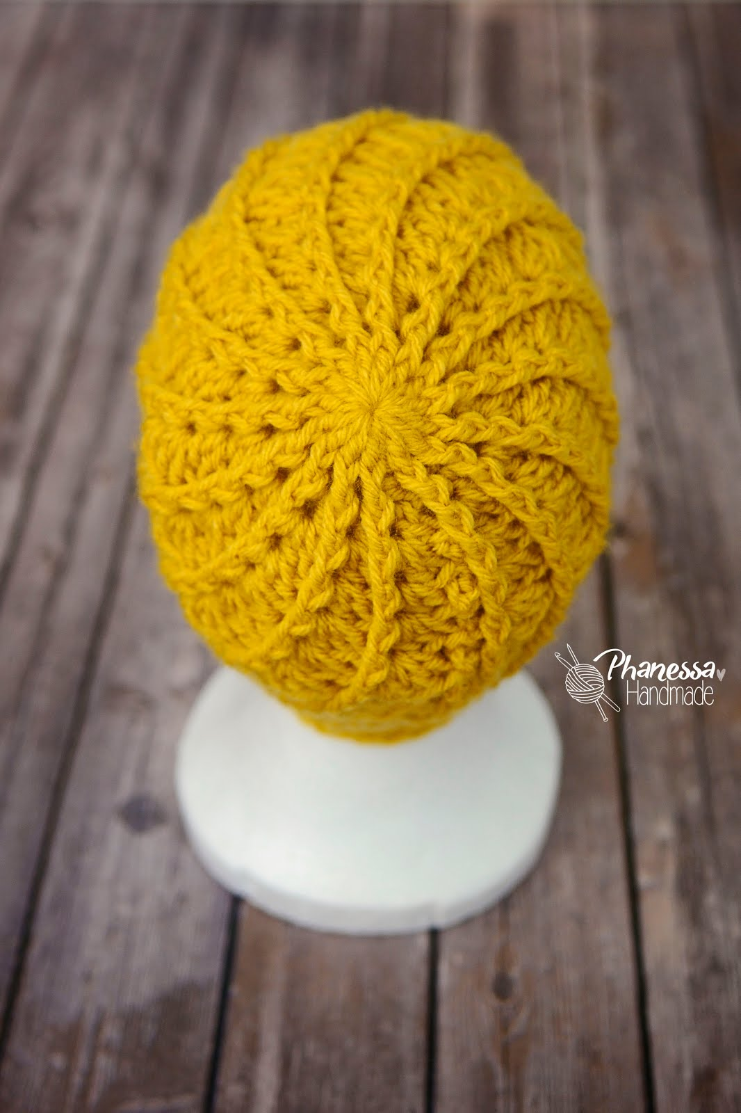 Handmade By Phanessa Crochet Spiral Hat