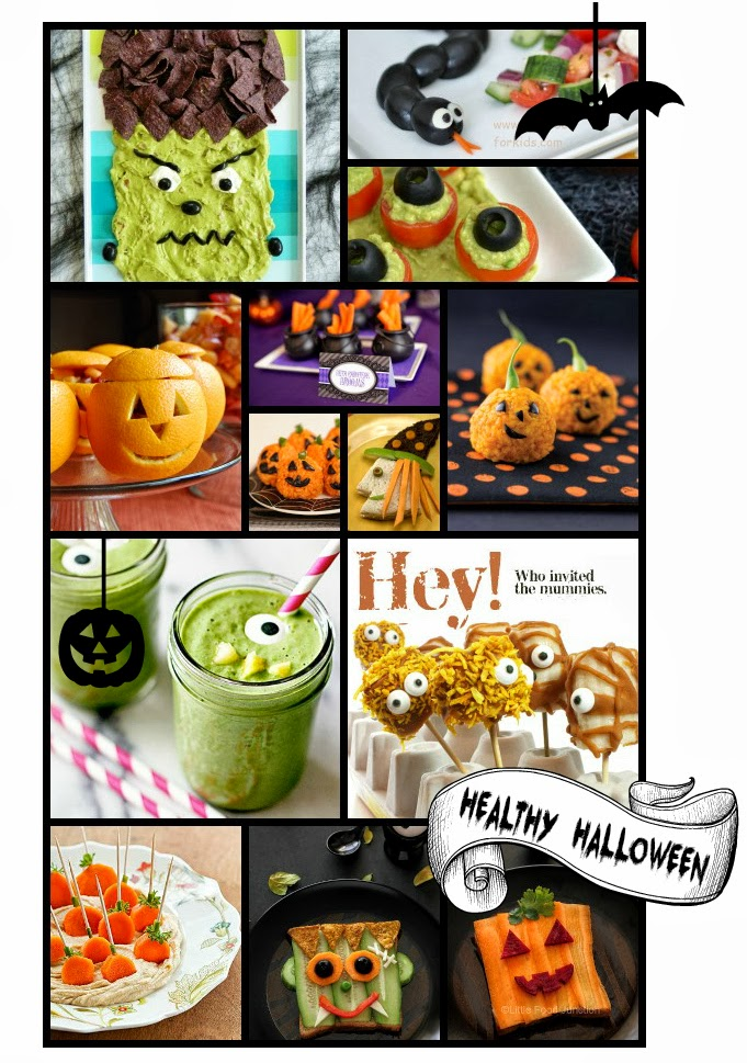 Healthy Halloween Treats + Recipes