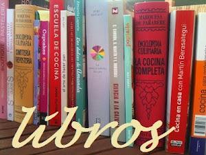 LIBROS Y COCINA