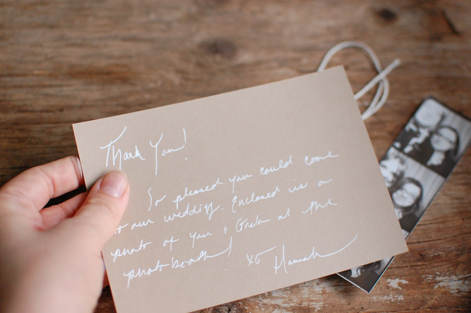 How To Prepare Your Wedding Thank You Card
